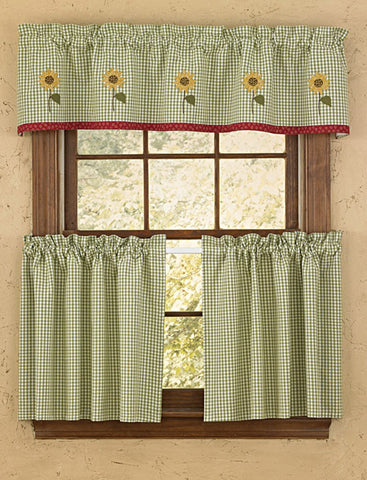 Park Designs - Sunny Day Lined Valance - 60 x 14 Inches
