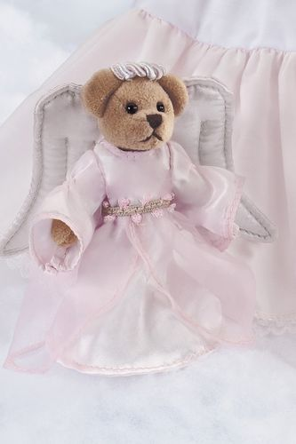Bearington - Serendipity Angel Bear 4.5 Inches - Olde Church Emporium