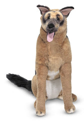 Melissa and Doug - Plush German Shepherd [Home Decor]- Olde Church Emporium