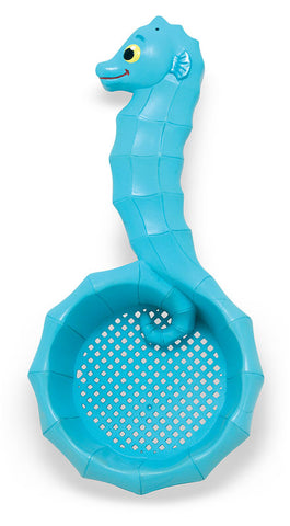 Melissa and Doug Speck Seahorse Sifter Beach Toy Sand Sifter