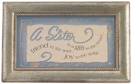 Sister Rectangle Music Box, 6-Inch by 4-Inch by 2-1/2-Inch [Home Decor]- Olde Church Emporium