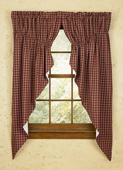 Park Designs - Sturbridge  Wine Curtains and Tabletop Collection Valances, Tiers, Swags, Napkins, Tablecloths,etc.