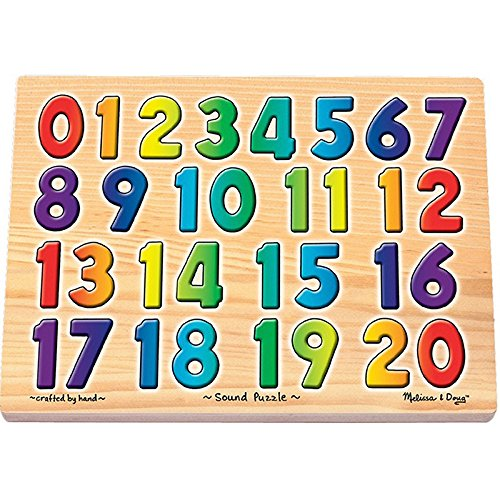 Melissa & Doug Sound Puzzles - Numbers - Olde Church Emporium
