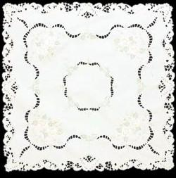 Heritage Lace Splendor Tablecloth 60 x 84 Inches Cream