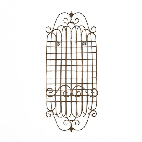 "Park Design Single Metal Plate Rack - Measures 14.25""H X 6""W X 1.75""D Farmhouse, Country"