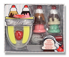 Melissa & Doug Slice and Scoop Sundae Set - Olde Church Emporium