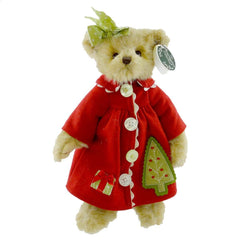 "Bearington - Christmas Bear ""Suzie Sprucey"" -  14"" Inches and Retired - Olde Church Emporium"