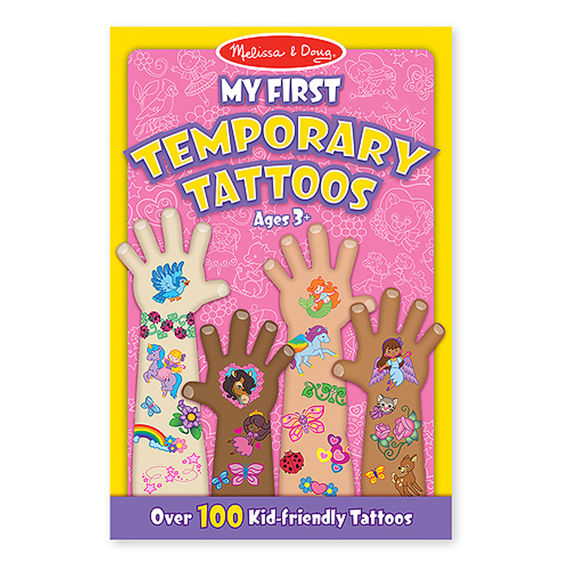 Melissa and Doug - My First Temporary Tattoos - 100+ Tattoos Age 3+ [Home Decor]- Olde Church Emporium