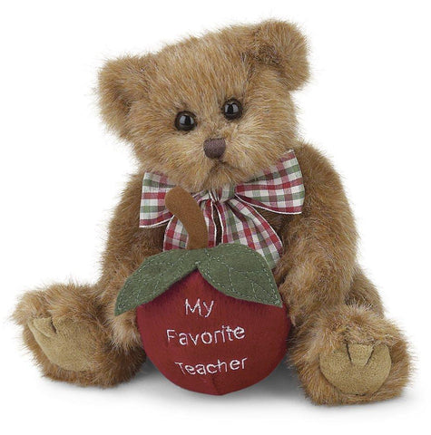Bearington - Beary Best Teacher Bear - 10 Inches