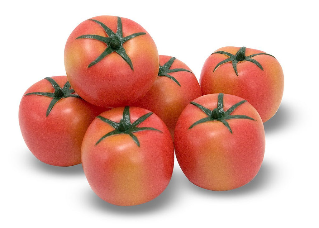 Melissa and Doug - Tomatoes (Bundle of 6) for Pretend Play [Home Decor]- Olde Church Emporium