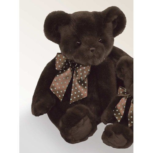 Bearington Bear - Truffles Chocolate colored Teddy Bear Soft and Cuddly 18 Inches - Olde Church Emporium
