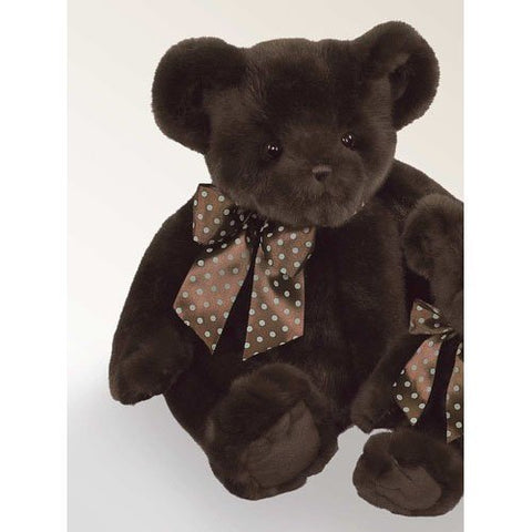 Bearington Bear - Truffles Chocolate colored Teddy Bear Soft and Cuddly 18 Inches