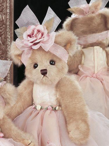 "Bearington -Tippy Toeshoes Plush Stuffed Animal Ballerina Teddy Bear 14"", Retired, Collectible"