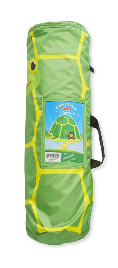 Melissa & Doug - Sunny Patch Tootle Turtle Camping Tent Other Styles Available [Home Decor]- Olde Church Emporium