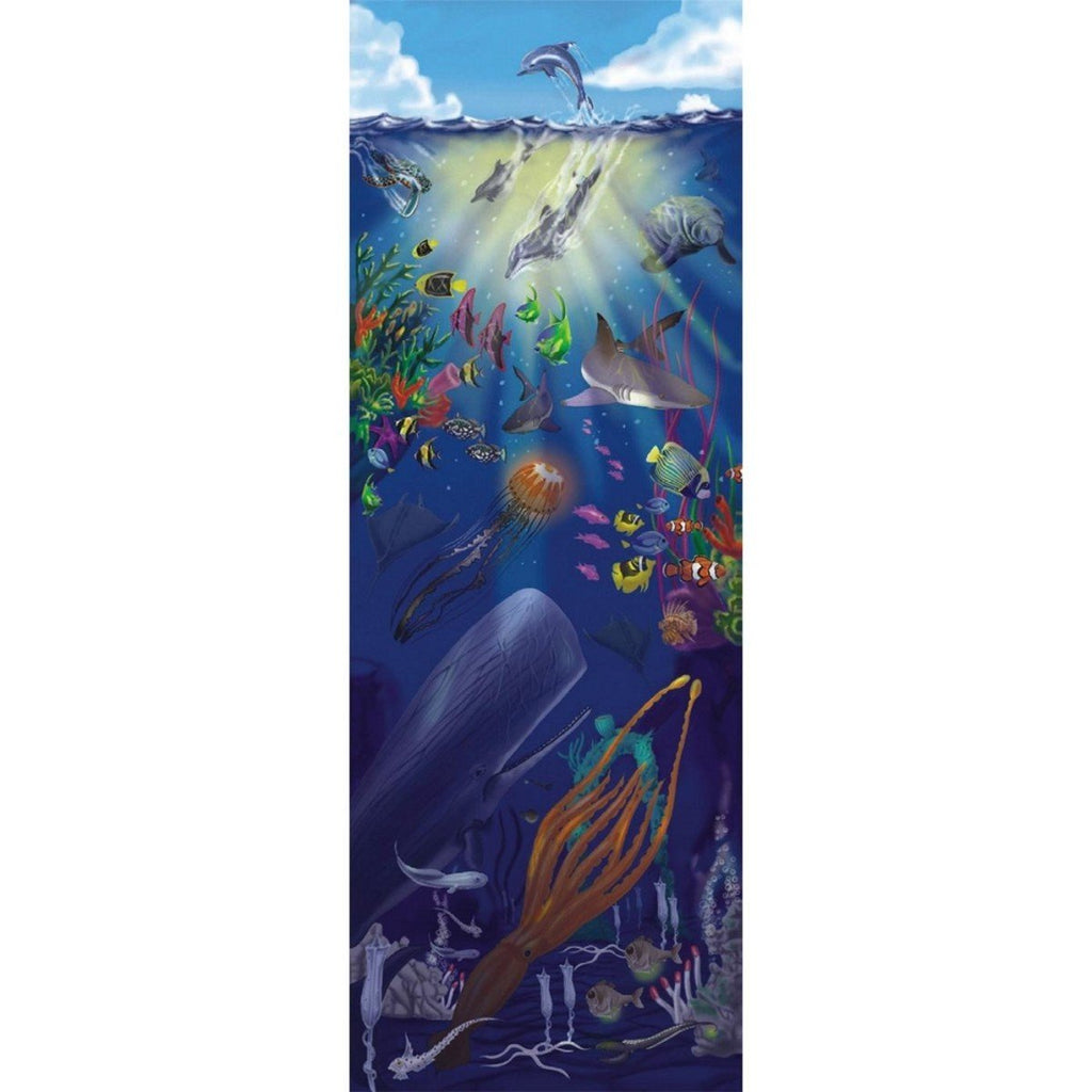 Melissa and Doug - 100 piece Under the Sea Extra Large Floor Puzzle - 4 ft Tall [Home Decor]- Olde Church Emporium