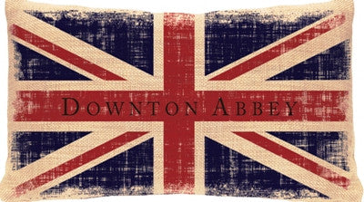 Downton Abbey - Union Jack Pillows - Downton Abbey Collection
