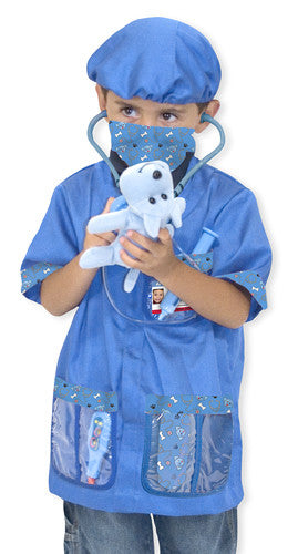 Veterinarian Role Play Costume Set 3 to 6 years old