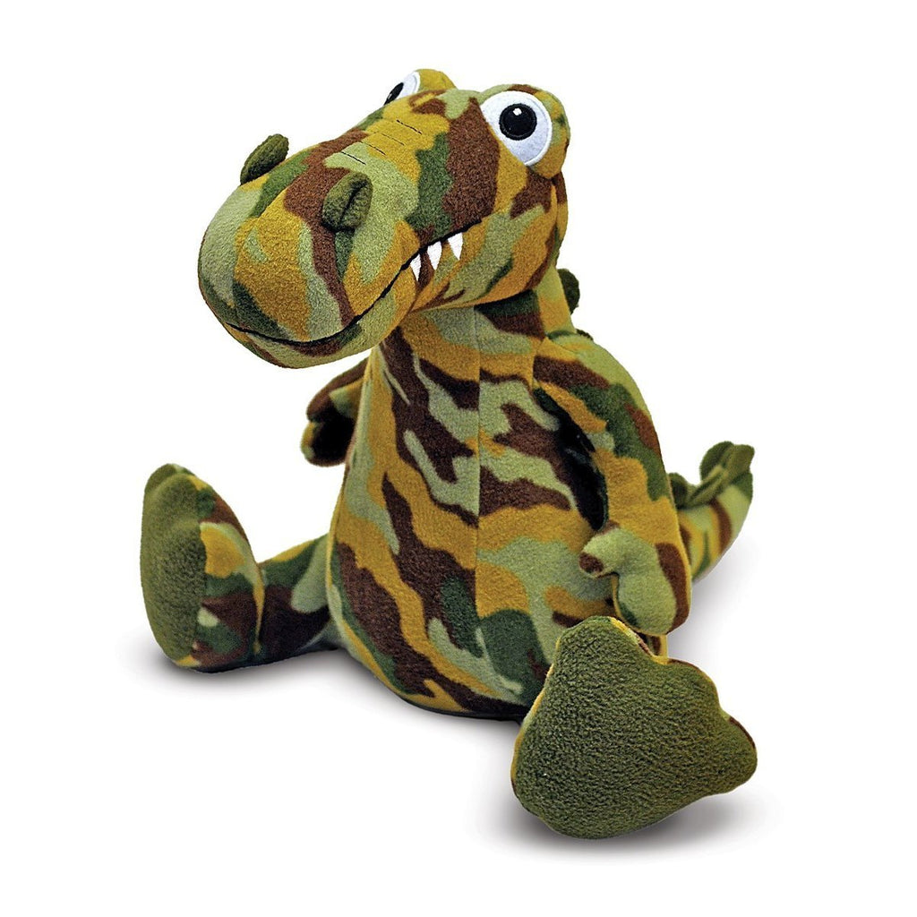 Melissa and Doug - Beeposh Collection  Camouflage Wally Dinosaur Small Size 9 Inches [Home Decor]- Olde Church Emporium