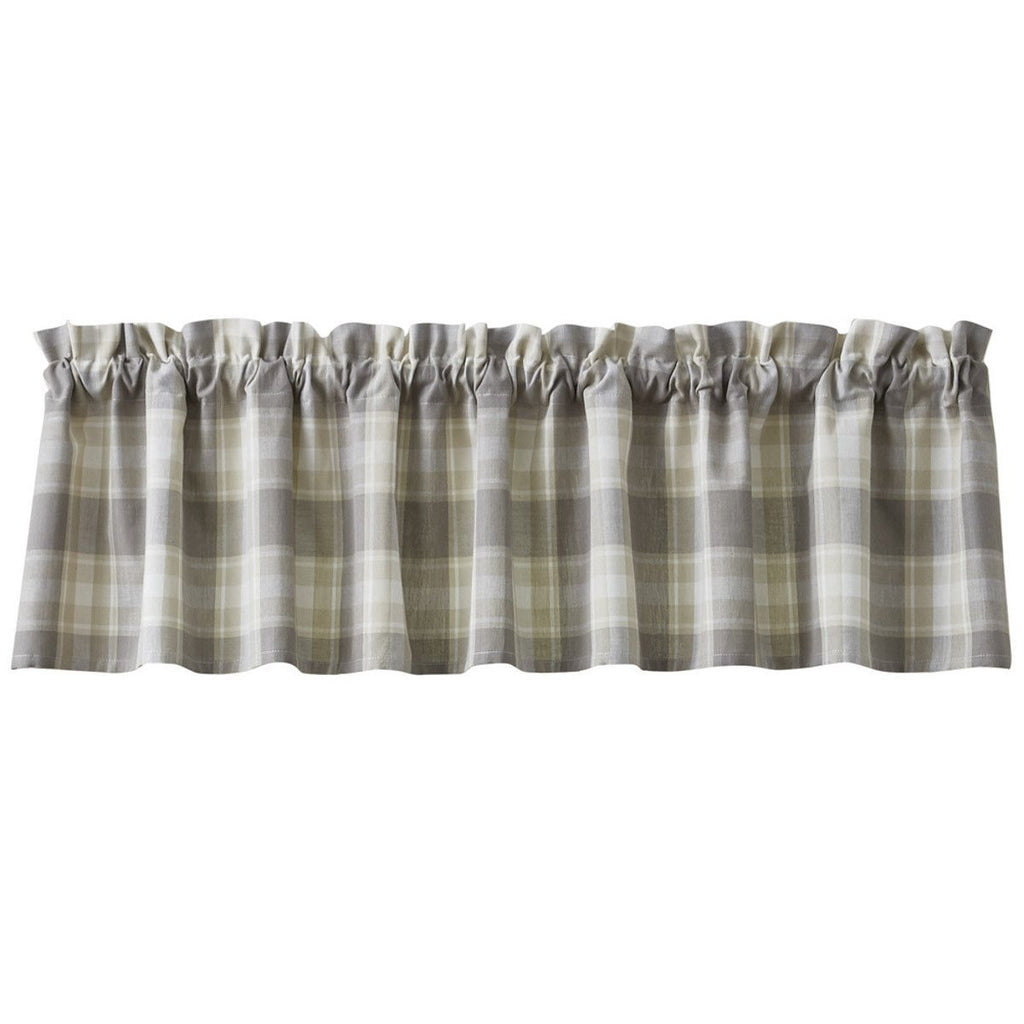 Park Design Weathered Oak Unlined  Valance 72X14 Inches - Olde Church Emporium