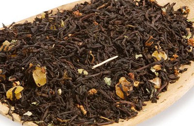 Wild Strawberry loose leaf tea -Loose Wild Strawberry black tea - Olde Church Emporium