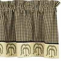 Park Designs - Willow Collection - Valances, Single Point Valances, Swags - Olde Church Emporium