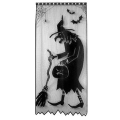 Heritage Lace Halloween Collection - Window Panels, Spider Webs, Runners, etc [Home Decor]- Olde Church Emporium