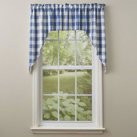 "Park Design Wicklow  China Blue Swag - 36"" x 72""  - Farmhouse, Country"
