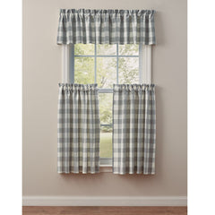 Park Design Wicklow Valance 72x14 Inches Dove Unlined - Olde Church Emporium