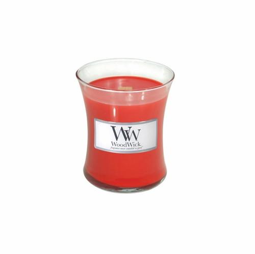 WoodWick Candle - Holiday Hearth - Small 3.4oz Burn Time 40 Hours - Olde Church Emporium