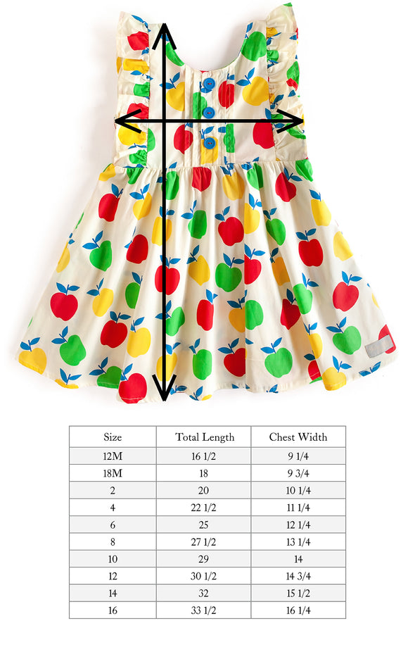 Apple Picking Woven Dress