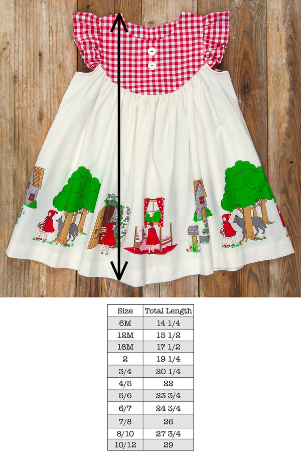 Back-to-School Little Red Riding Hood Gigi Dress