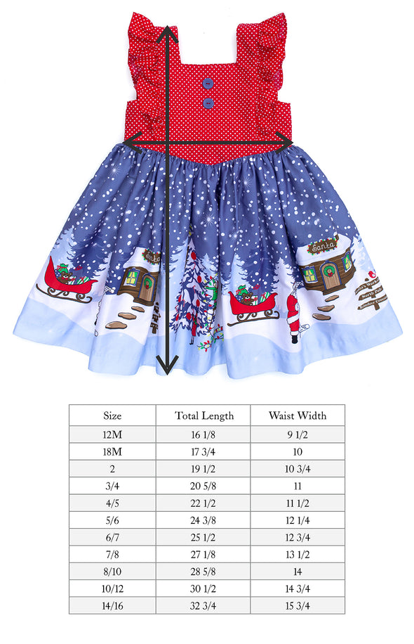 Santa's Workshop Aria Dress