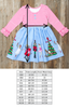 Classic Christmas Blue Nutcracker Rhonda Dress