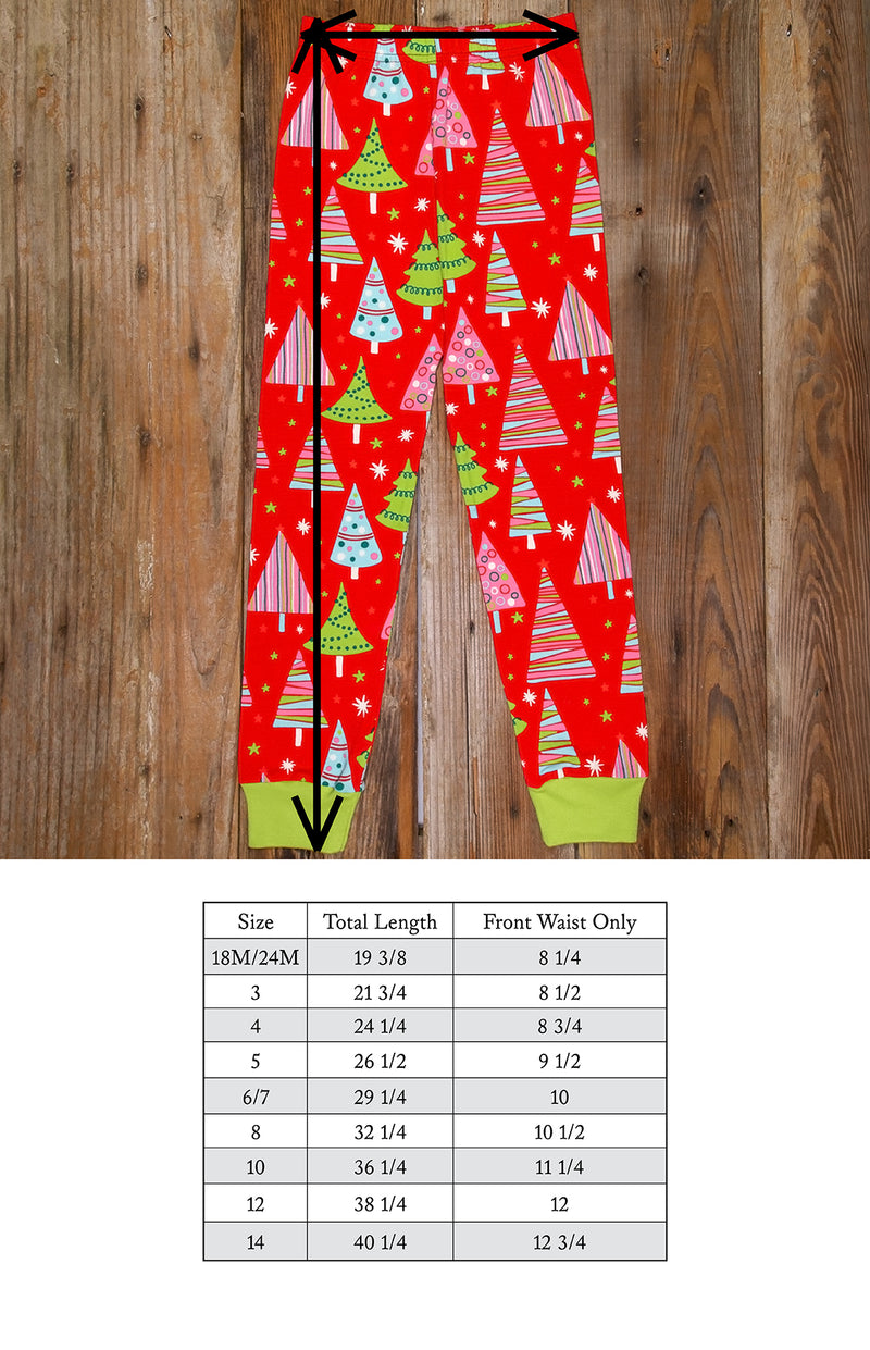 Christmas Eve Carson Tree Pajama Sets