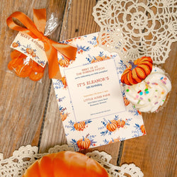 Vintage Pumpkins Party Printable