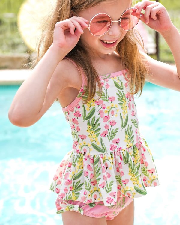 Spring Break Pinkbell Tankini Set