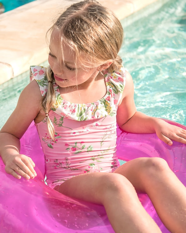 Spring Break Primrose Tank Swimsuit