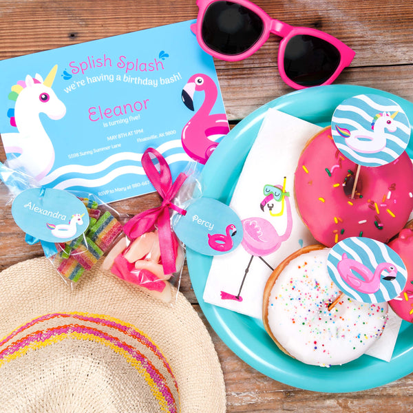 My Favorite Floats Party Printable Package