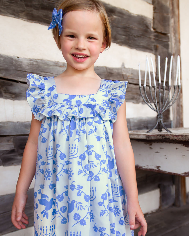 Happy Hanukkah Farrah Dress