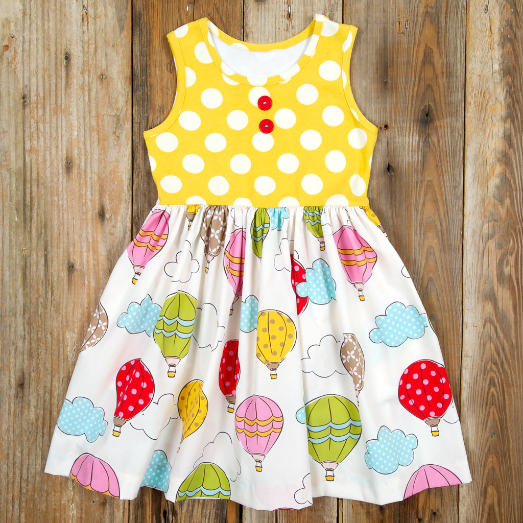 Whimsical Summer Surprise Rhonda Balloons Dress