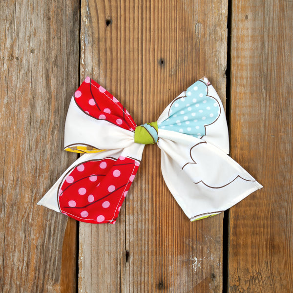 Whimsical Summer Surprise Sonni Balloons Bow