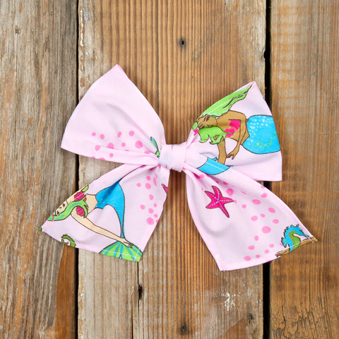 Whimsical Summer Surprise Sonni Mermaids Bow