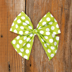Costume Parade Sonni Green Dot Bow