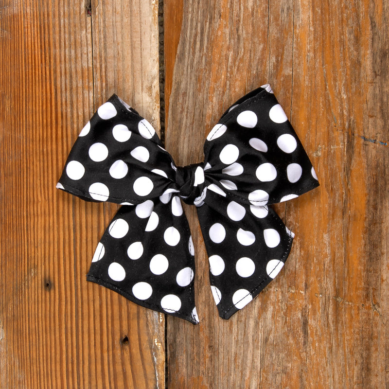 Costume Parade Sonni Black Dot Bow
