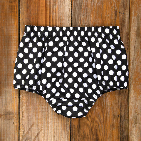 Costume Parade Heidi Black Polka Dot Diaper Cover