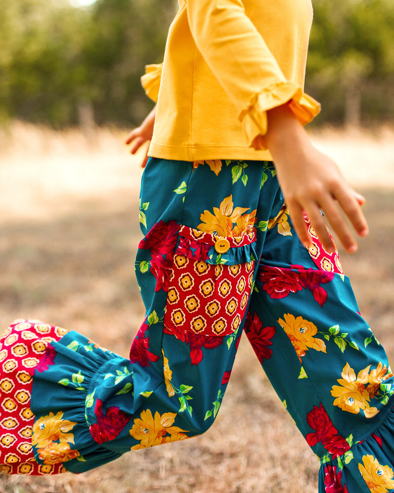 Autumn Rose Eva Pant