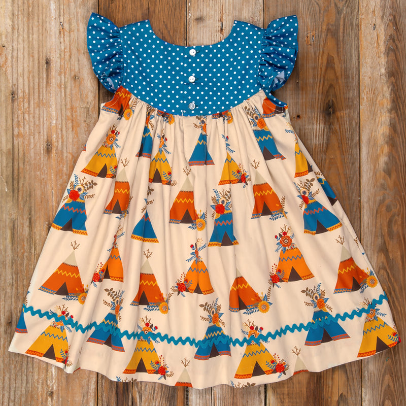 Thanksgiving Day Parade Gigi Teepee Dress
