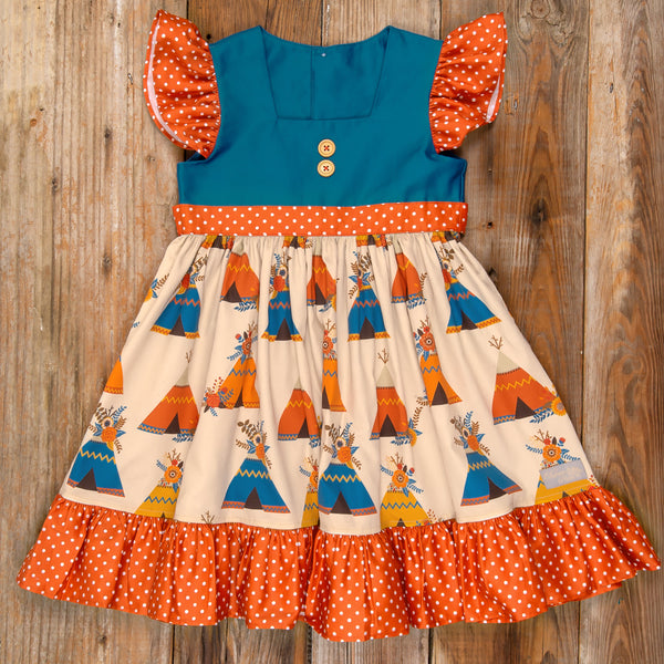 Thanksgiving Day Parade Alina Teepee Dress