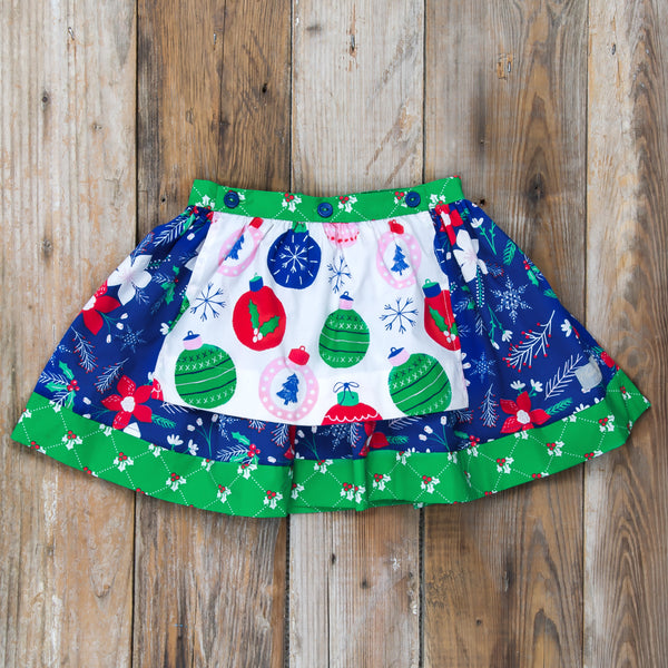 Deck the Halls Mandy Removable Apron Skirt