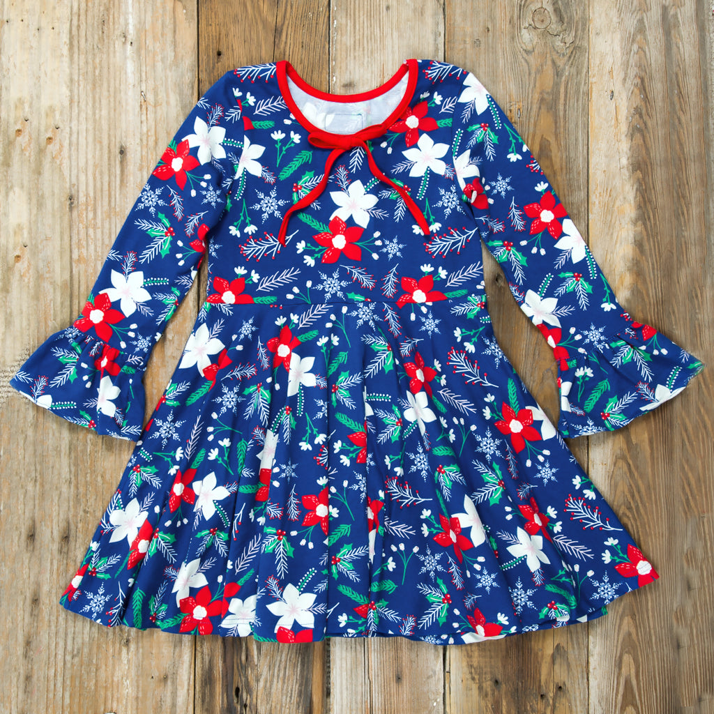 Deck the Halls Ruby Dress
